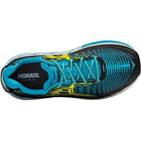 Hoka One One Gaviota - Zapatillas running Hombre - amarillo/Azul petróleo